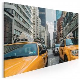 Żółte taksówki - fotografia na płótnie