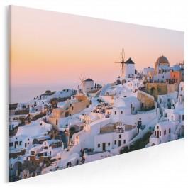 Oia - Santorini - zdjęcie na płótnie - 120x80 cm