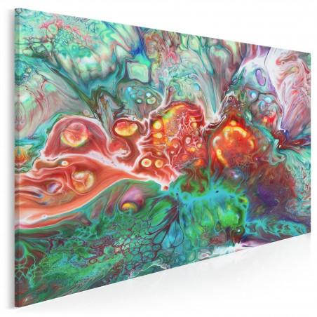 Rafa koralowa - nowoczesny obraz na płótnie - 120x80 cm