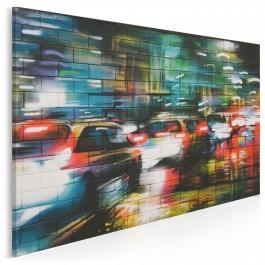 Nowojorski spleen - fotoobraz do salonu - 120x80 cm