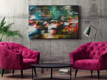 Nowojorski spleen - fotoobraz do salonu