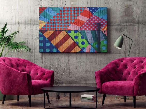 Cyrkowe ewolucje - zdjęcie na płótnie - 120x80 cm