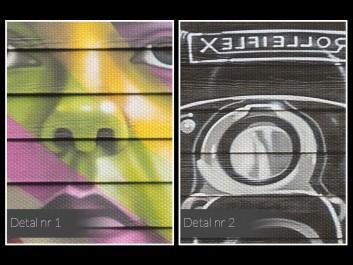 Vivian Maier - fotoobraz do salonu - 120x80 cm