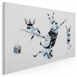 Teatr iluzji - fotografia na płótnie - 120x80 cm