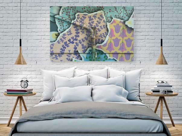 Miejski kwietnik - zdjęcie na płótnie - 120x80 cm