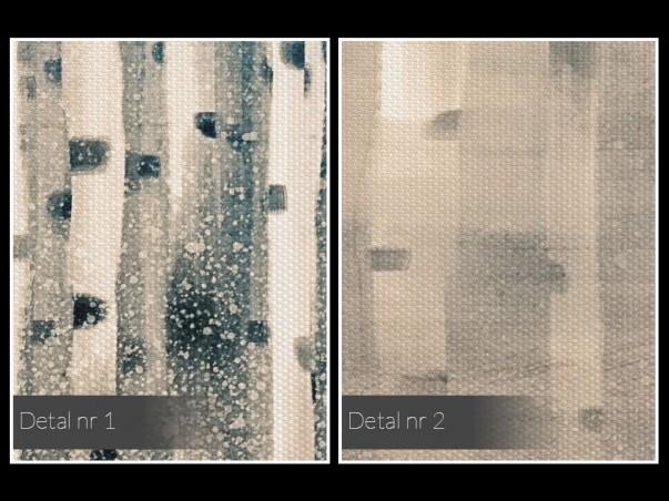 W półśnie - nowoczesny obraz do sypialni - 120x80 cm