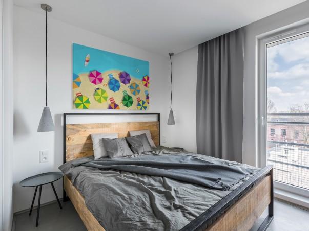 Plażing - nowoczesny obraz do salonu - 120x80 cm