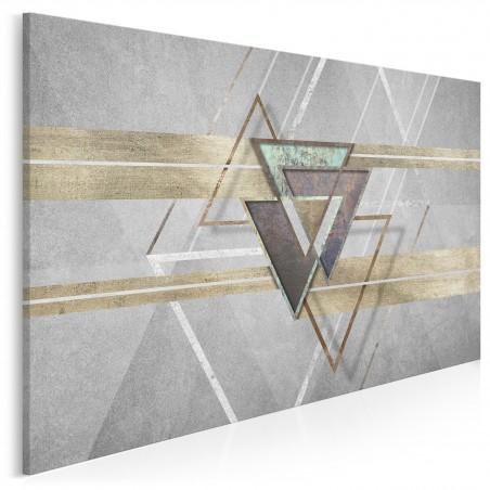 Oniryczny spektakl - nowoczesny obraz na płótnie - 120x80 cm