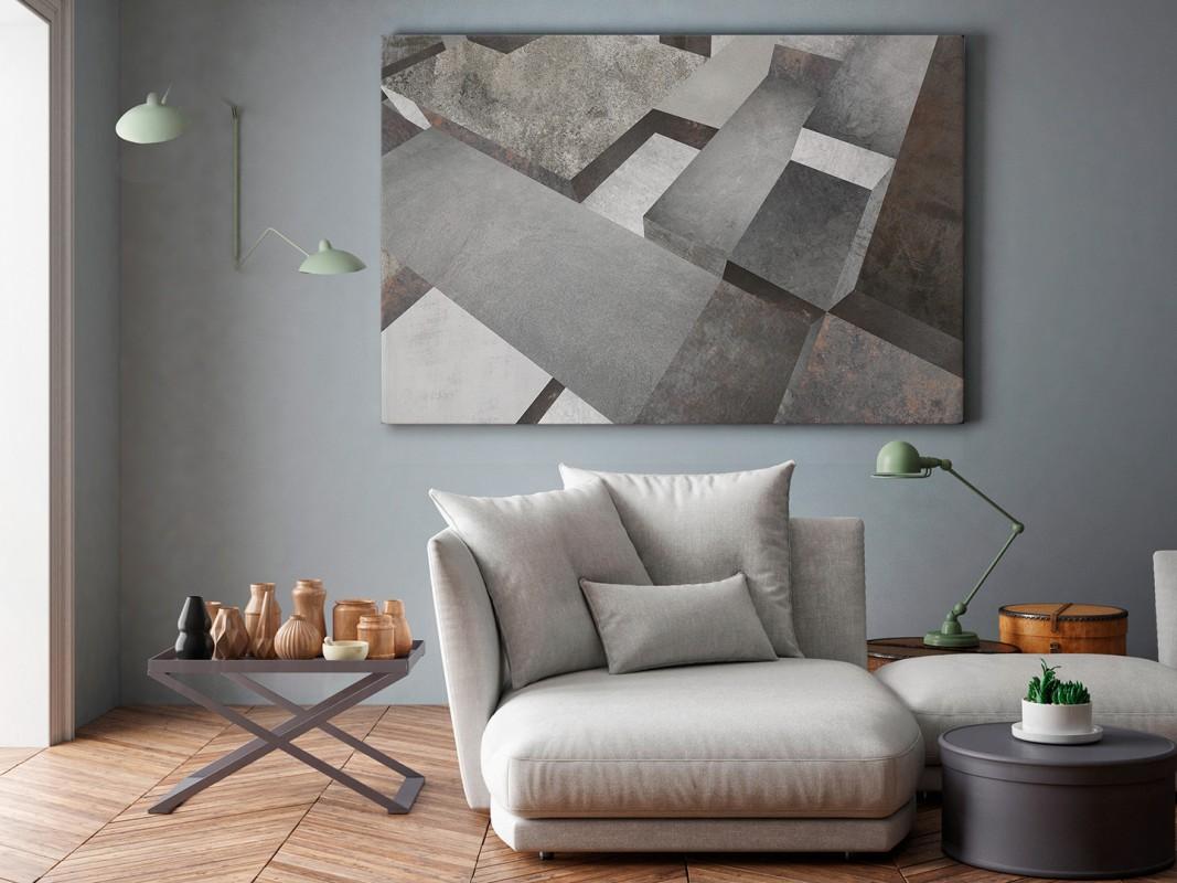Piedestał mądrości - nowoczesny obraz do salonu - 120x80 cm