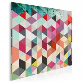 Pozory i złudzenia - nowoczesny obraz na płótnie - 80x80 cm