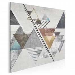 Teoria względności - nowoczesny obraz na płótnie - 80x80 cm