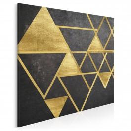 Szlachetny blask - nowoczesny obraz na płótnie - 80x80 cm