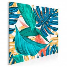 Oranżeria - nowoczesny obraz na płótnie - 80x80 cm