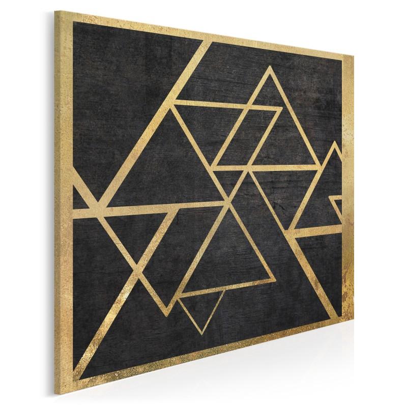 Szlachetny blichtr - nowoczesny obraz na płótnie - 80x80 cm