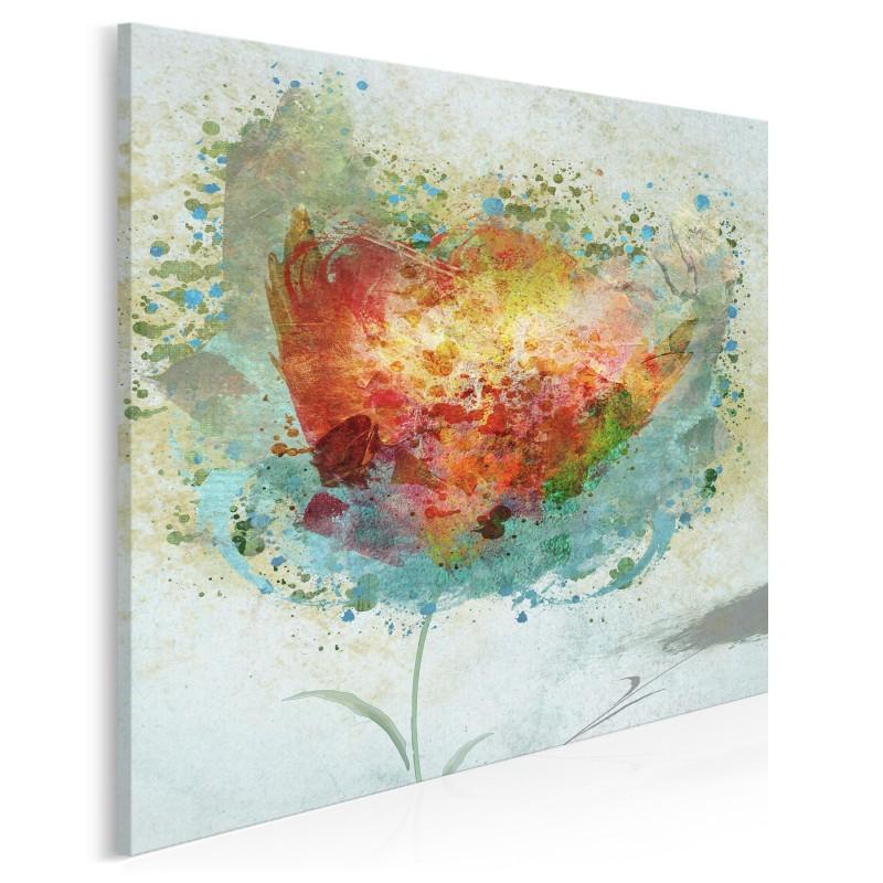 Oswobodzenie - nowoczesny obraz na płótnie - 80x80 cm