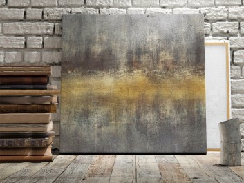 Sigma - nowoczesny obraz do sypialni - 80x80 cm