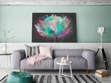 Wolność - nowoczesny obraz do salonu - 120x80 cm