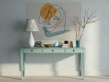 Eurydyka - nowoczesny obraz do sypialni - 120x80 cm