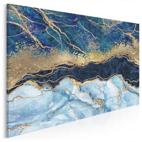 Rzeka życia - nowoczesny obraz do salonu - 120x80 cm