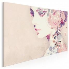Kwiat kobiecości - nowoczesny obraz na płótnie - 120x80 cm