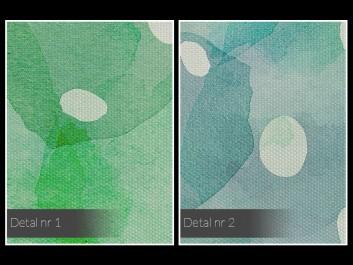 Dom zieleni - nowoczesny obraz na płótnie - 120x80 cm