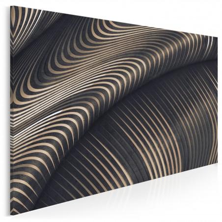 Na falach eteru - nowoczesny obraz do salonu - 120x80 cm