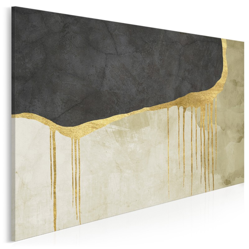 Zatracenie - nowoczesny obraz na płótnie - 120x80 cm