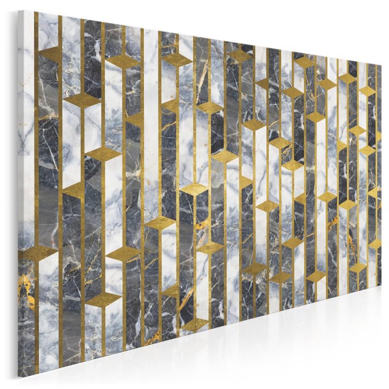 Wierne wieże - nowoczesny obraz do salonu - 120x80 cm