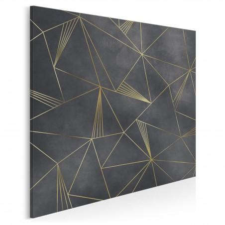 Mikrokosmos - nowoczesny obraz do salonu - 80x80 cm