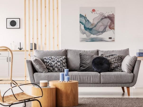 Skarbiec baśni - nowoczesny obraz na płótnie - 80x80 cm