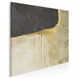 Zatracenie - nowoczesny obraz na płótnie - 80x80 cm