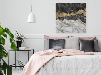 Kanion życia - nowoczesny obraz do salonu - 80x80 cm