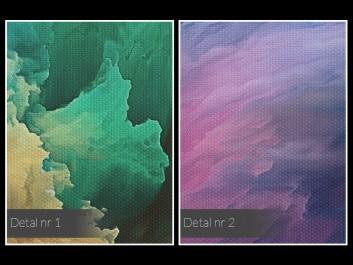Opium - nowoczesny obraz na płótnie - 120x80 cm