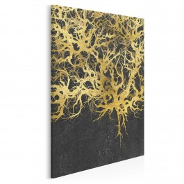 Od iluzji do immersji - nowoczesny obraz na płótnie - 50x70 cm