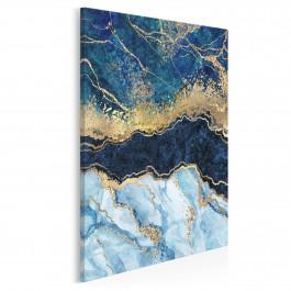 Rzeka życia - nowoczesny obraz do salonu - 50x70 cm