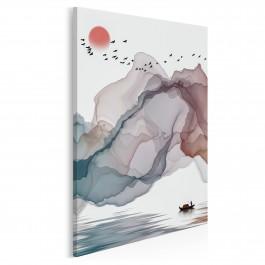 Skarbiec baśni - nowoczesny obraz na płótnie - 50x70 cm