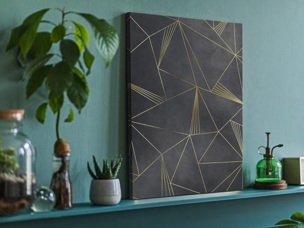 Mikrokosmos - nowoczesny obraz do salonu - 50x70 cm