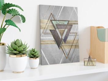 Oniryczny spektakl - nowoczesny obraz na płótnie - 50x70 cm