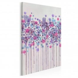 Kaligrafia mglistych wzruszeń - nowoczesny obraz na płótnie - 50x70 cm