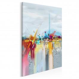 Hydrosfera - nowoczesny obraz do salonu - 50x70 cm