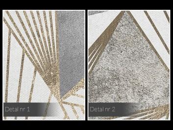 Dysproporcja - nowoczesny obraz na płótnie -50x70 cm