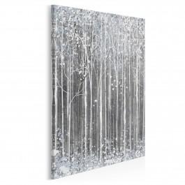 Styczeń w Petersburgu - nowoczesny obraz do sypialni - 50x70 cm
