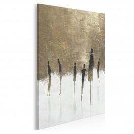 Znajomi nieznajomi - nowoczesny obraz na płótnie - 50x70 cm
