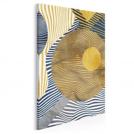 Antymateria - nowoczesny obraz na płótnie - 50x70 cm