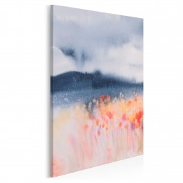 Rekonesans szczęścia - nowoczesny obraz do sypialni - 50x70 cm
