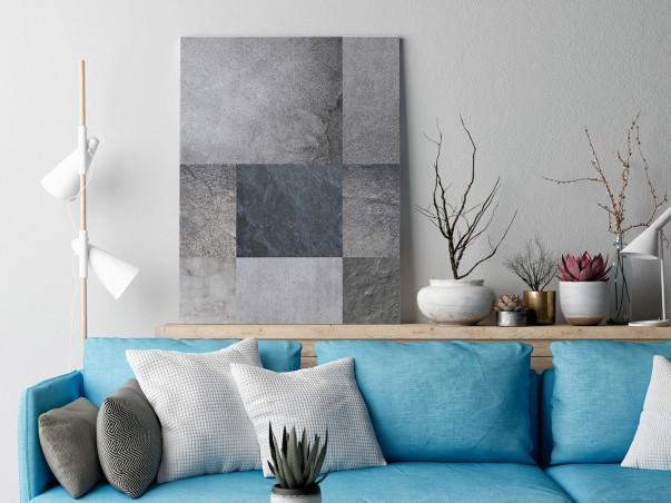 Proste zawiłości - nowoczesny obraz na płótnie - 50x70 cm