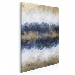 Sztorm - nowoczesny obraz na płótnie - 50x70 cm
