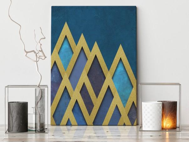 Skarbce faraonów - nowoczesny obraz na płótnie - 50x70 cm