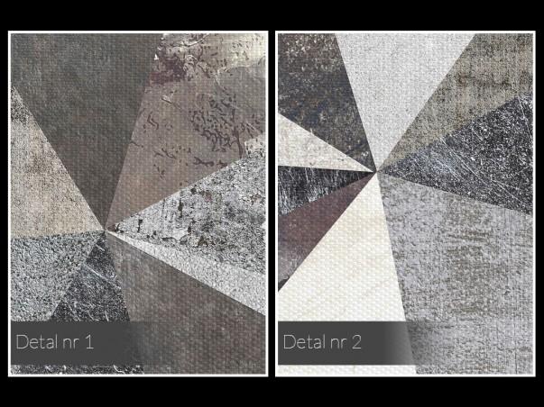 Skalne miasto - nowoczesny obraz na płótnie - 50x70 cm