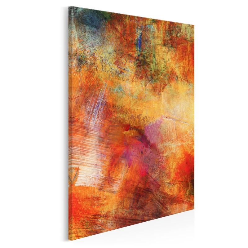 Błysk i mrok - nowoczesny obraz na płótnie - 50x70 cm